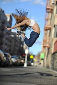 Jump movement methode